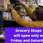 Chhattisgarh Grocery Shops open on Friday and saturday due to festival