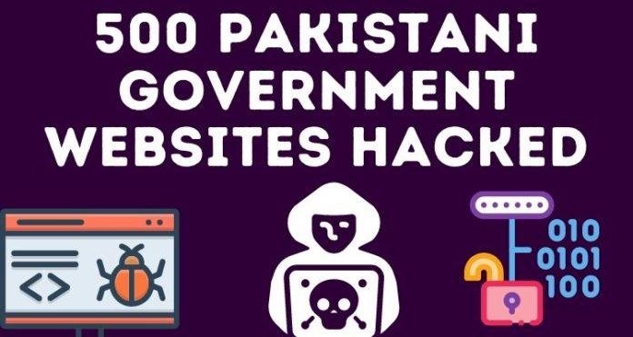 500 Pakistani Government Websites Hacked