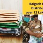 Raigarh Police distributes over 12 lakh mask on the Raksha Bandhan Day