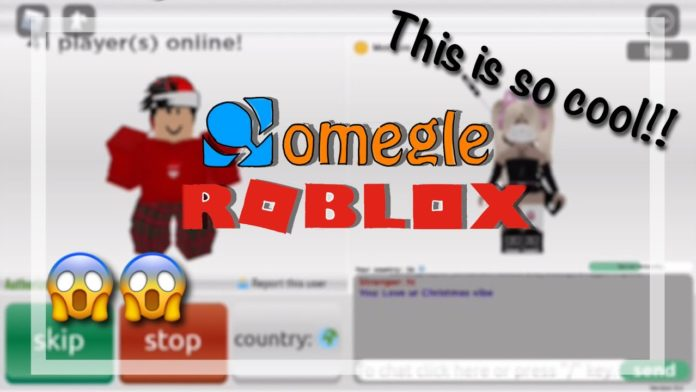 Omegle on Roblox